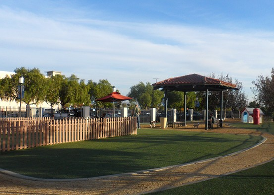 Treat Fido to some serious off-leash playtime at our 10,000 square-foot dog park.